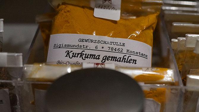 Kurkuma ist zurzeit der Verkaufsschlager