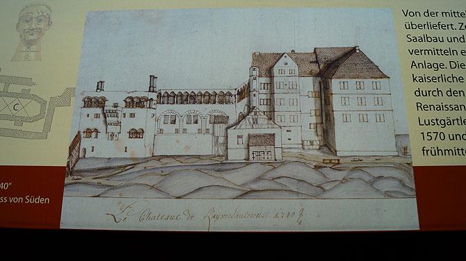 Die Kaiserpfalz und das Jagdschloss von Casimir siehst du hier
