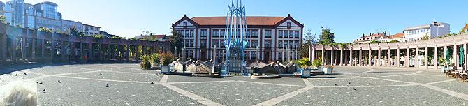 Panorama vom Pirmasenser Exerzierplatz