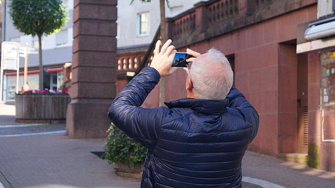 Fotos machen von den Granaten