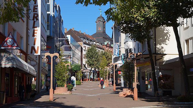 Innenstadt von Pirmasens