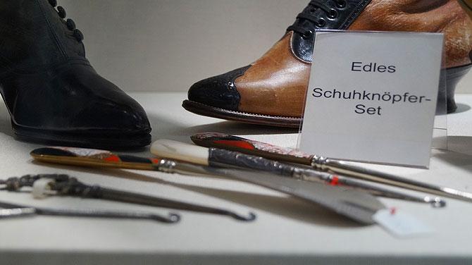 Schuhknöpfer-Set