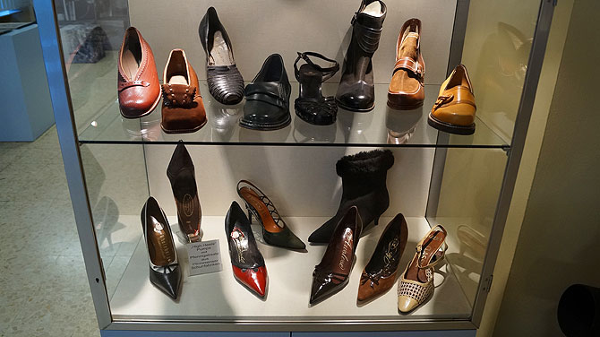 Schuhe im Pirmasenser Schuhmuseum