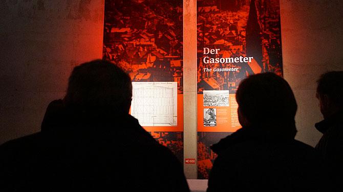 Infos zum Gasometer als Gaskessel