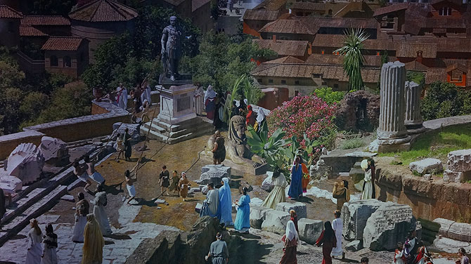 Szenario im Antiken Rom