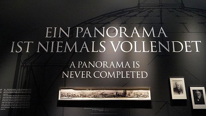 """""""Ein Panorama ist niemals vollendet."""""""