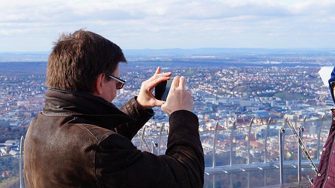 Fotografieren und Selfie