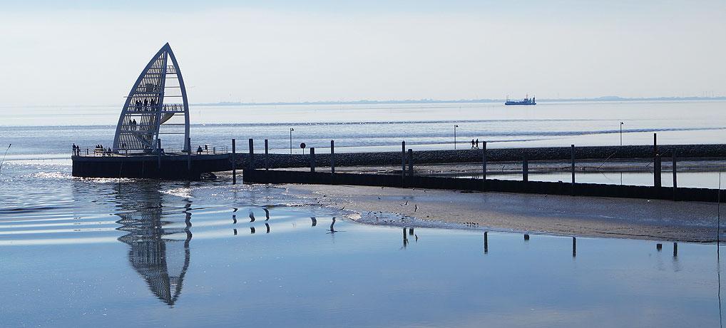 Es gibt viele Sehenswürdigkeiten auf Juist, einer der beliebsten Insel für Urlaub an der Nordsee