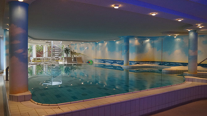Wellness Pool im Pabst Hotel