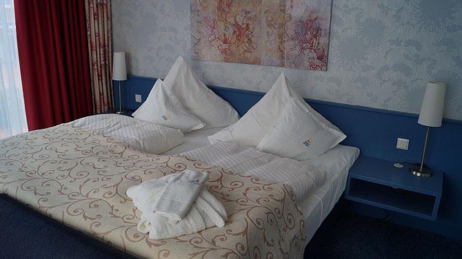 Zimmer im Hotel Pabst auf Juist