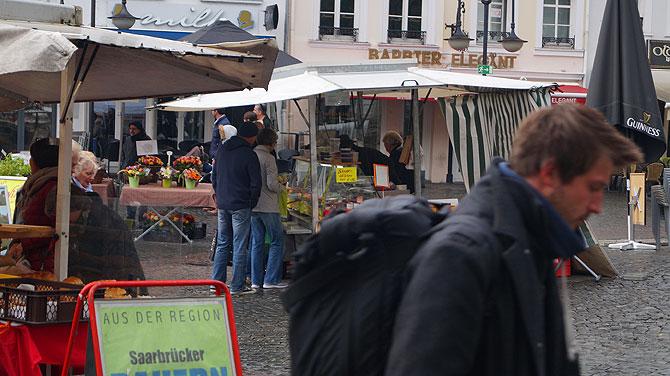 Der Markt St. Johann in der Altstadt