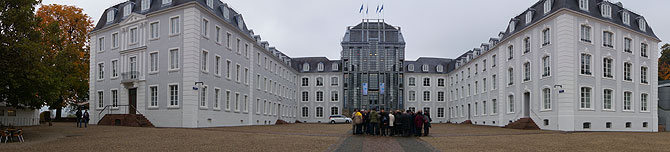 Panorama vom Saarbrücker Schloss
