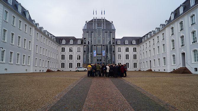Das ehrwürdige Schloß Saarbrücken