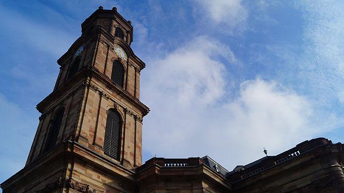Die Ludwigkirche gehört zu den beliebtesten Sehenswürdigkeiten in Saarbrücken