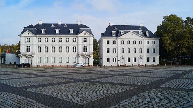White House mitten in der Saarstadt