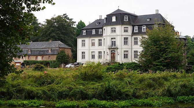 Das wildromantische Schloss Türnich