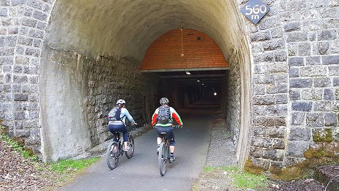 Der Eisenbahntunnel bei Daun ist der zweitlängste auf der Strecke