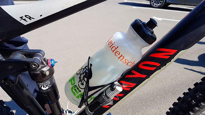 Trinken ist während einer Radtour äußerst wichtig
