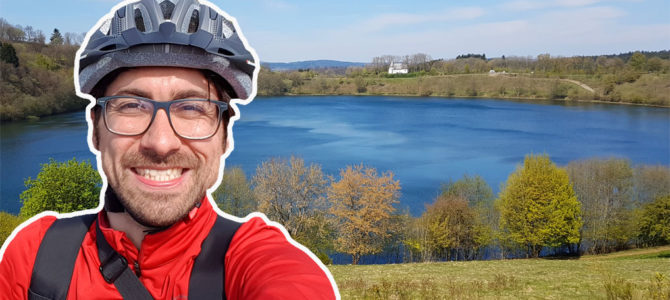 Mountainbiken in der Vulkaneifel