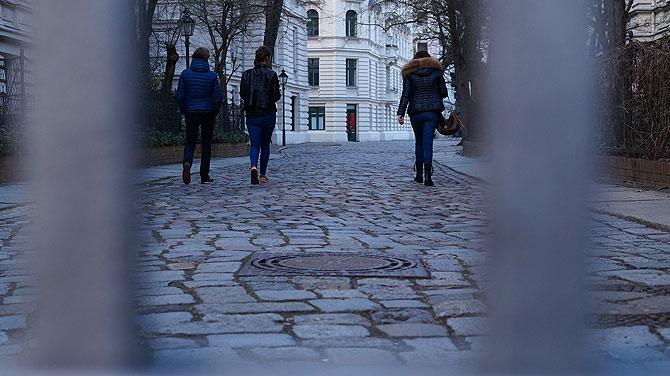 Eingang zu Riehmers Hofgarten