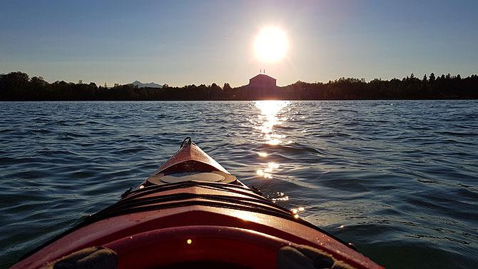 Sonnenuntergangstour mit Blick auf Füssen