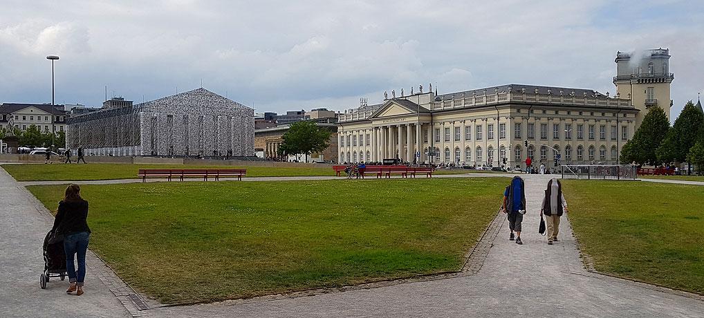 Die documenta 14 ist 2017 eine der wichtigsten Sehenswürdigkeiten in Kassel.