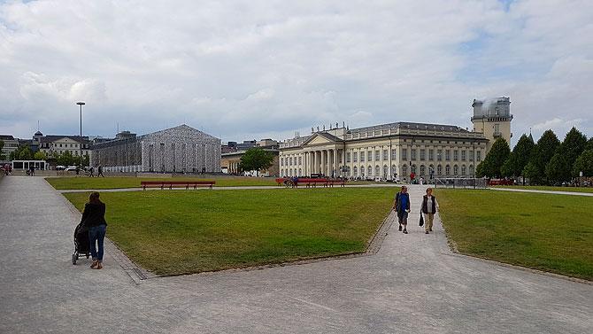 Hauptausgangpunkt ist der Friedrichsplatz in Kassel