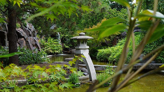 Japanischer Garten im Erfurter egapark