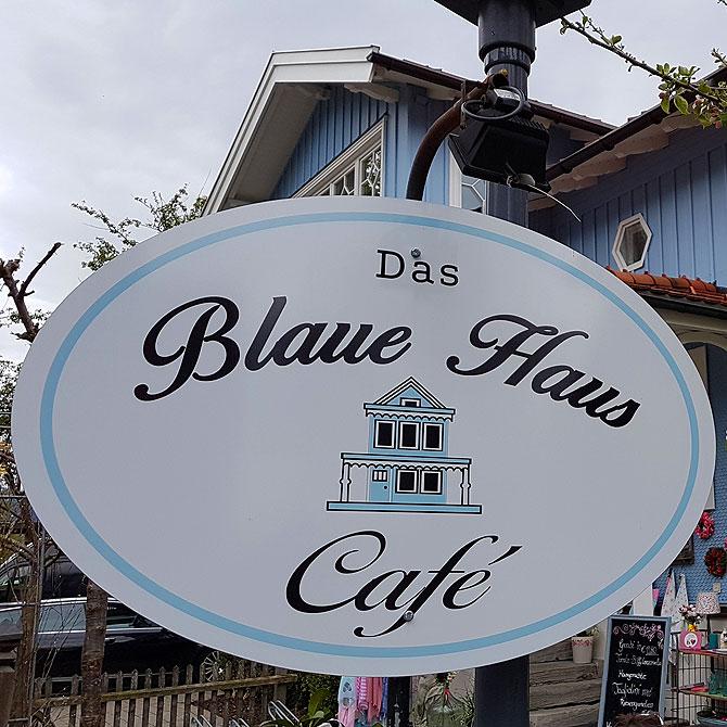 Das Cafe Blaues Haus in Oberstaufen ist ein schönes Ausflugsziel.
