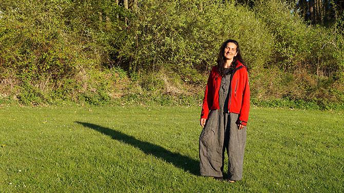 Marleen Item ist eine sogenannte Landschaftsmentorin.