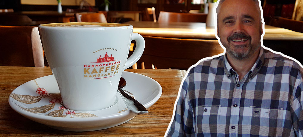 Andreas Berndt ist Chef der Hannoversche Kaffeemanufaktur in Hannover