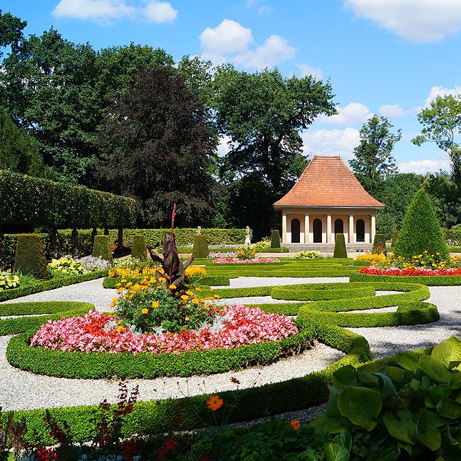 Der Schlosspark in Wolfsburg ist richtig schön.