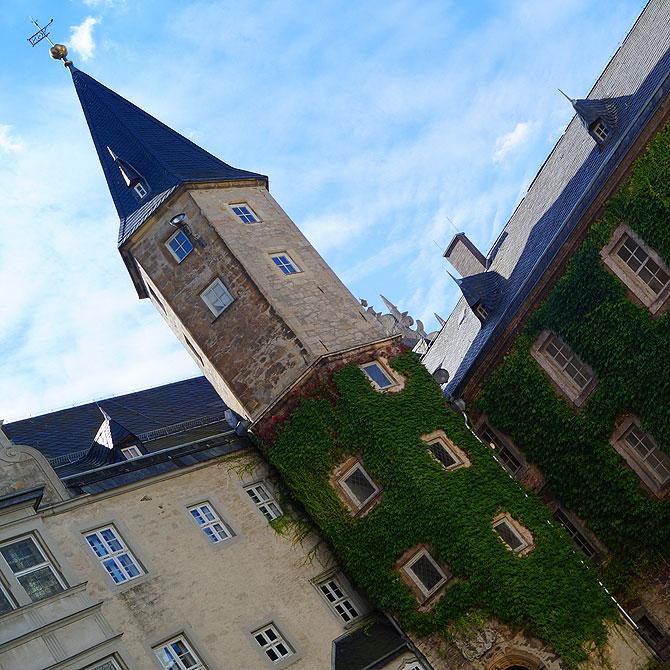 Der Turm Wendelstein von Schloss Wolfsburg
