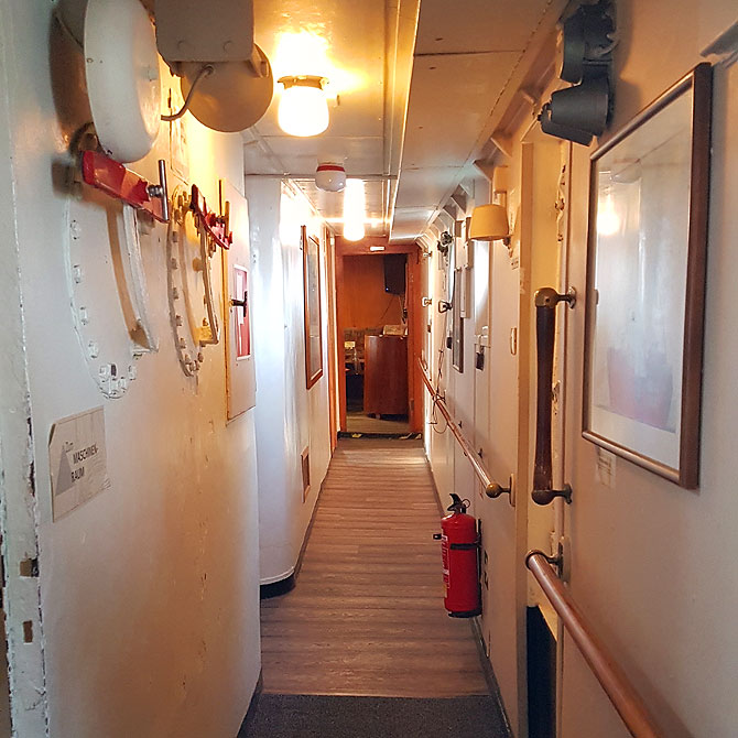 Quasi der Flur auf dem Feuerschiff