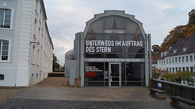 Eingang im Historischen Museum