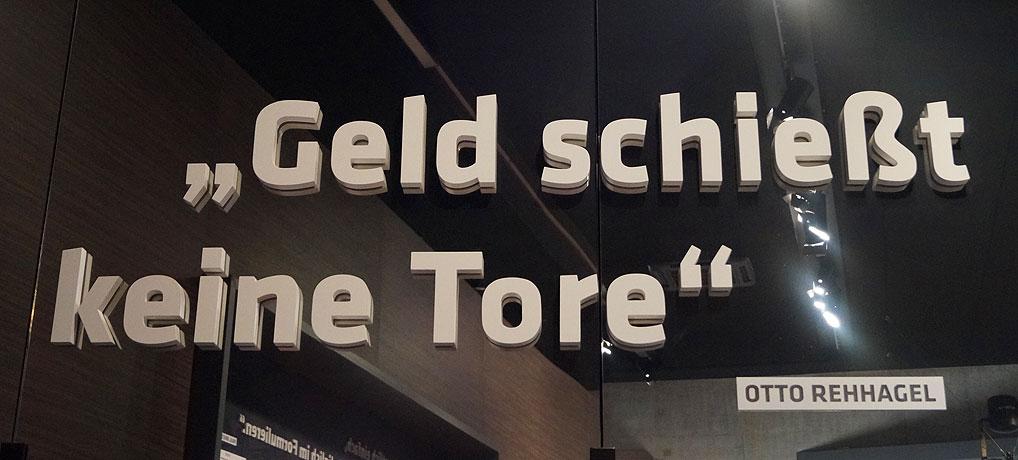 Das Deutsche Fußballmuseum in Dortmund ist das Mekka für Fußballfans.
