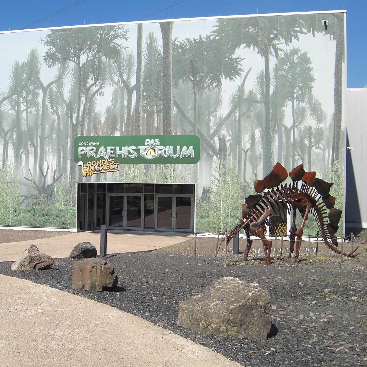 Das Gondwana bietet tolle Dino-Shows.
