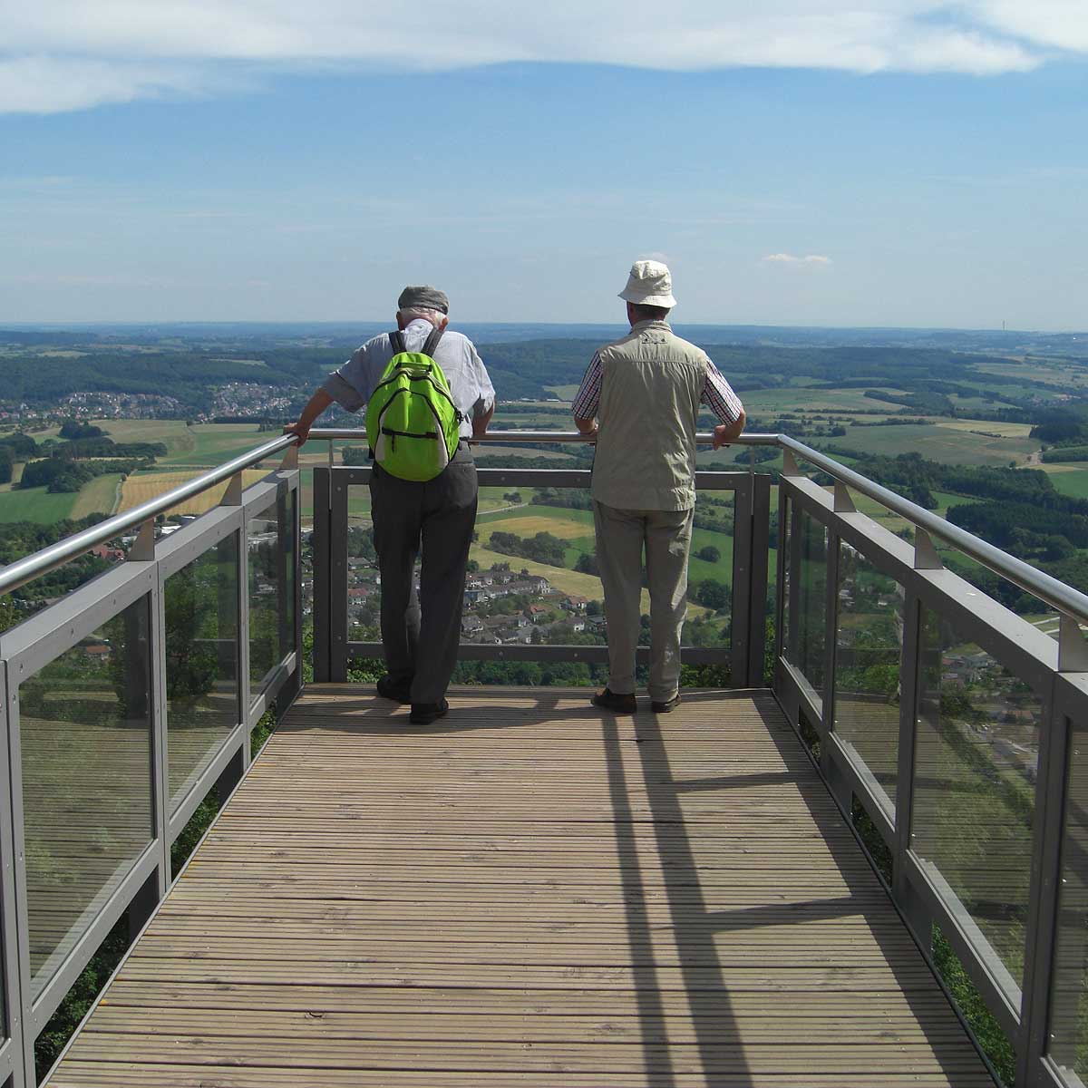 View Walk am Schaumberg in Tholey