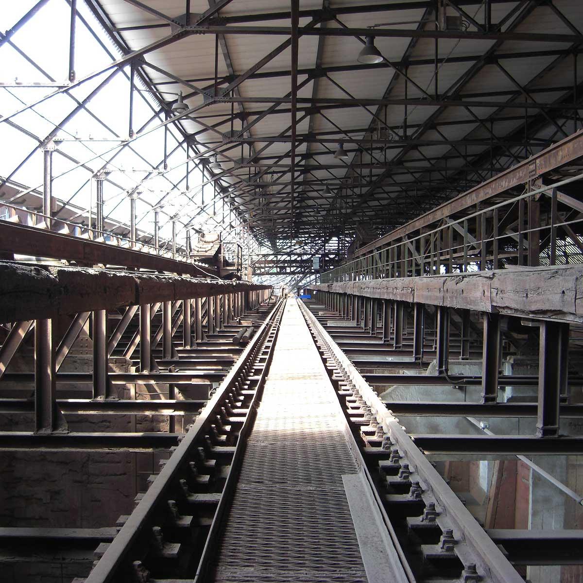 Stahlwerke sind heute wichtige Sehenswürdigkeiten im Saarland.