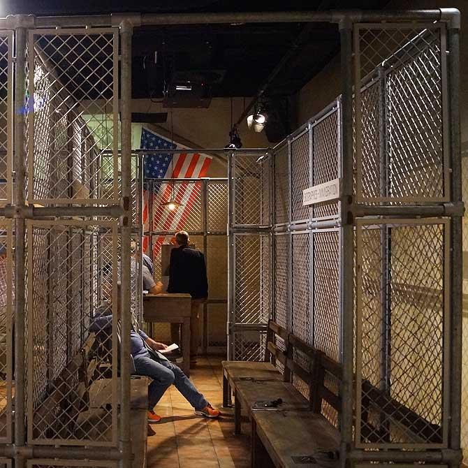 Ellis Island in Nachbildung