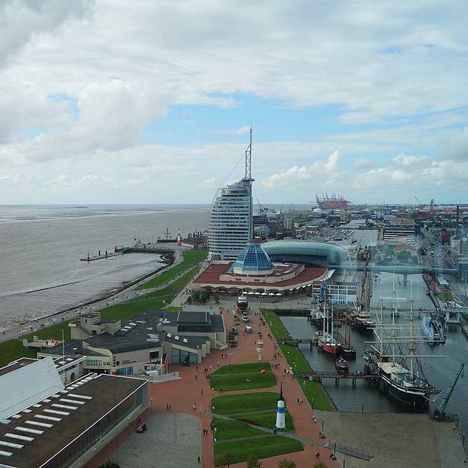 Atlantic Sail City vom Radarturm aus