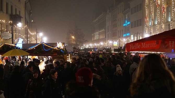 Konstanzer Weihnachtsmarkt auf dem Markststätte