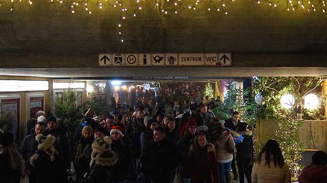 Tunnel an der Konstanzer Markststätte
