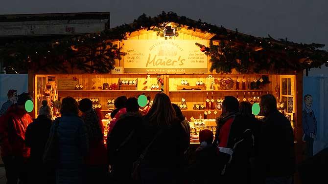 Maiers Genuss auf dem Ludwigsburger Weihnachtsmarkt