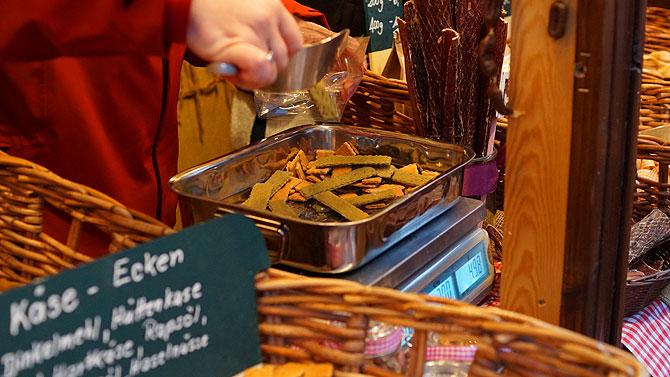 Leberwurst geht am besten in der Hunde Bäckerei