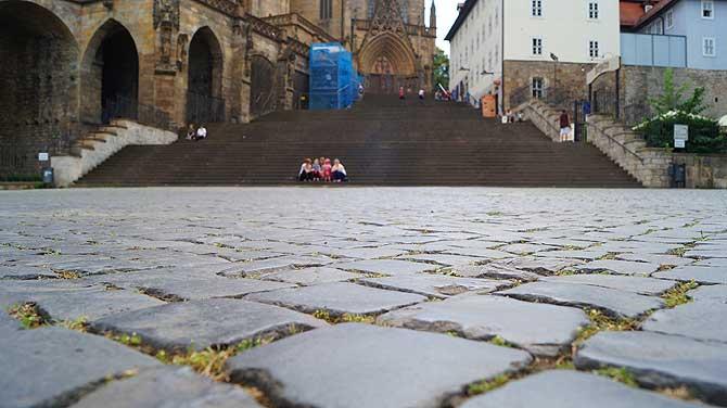70 Domstufen zu Erfurt