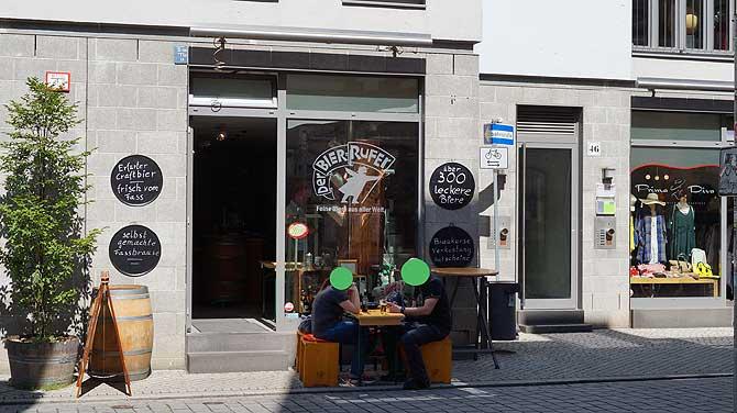 Kleinster Biergarten in Erfurt