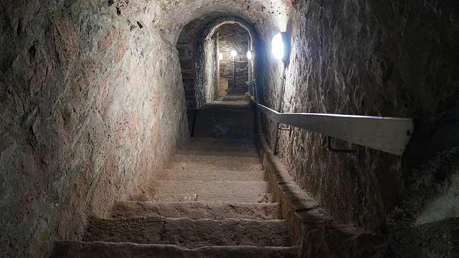 Horchgänge der Zitadelle Petersberg