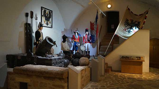 Museum in der Festung Zitadelle Petersberg