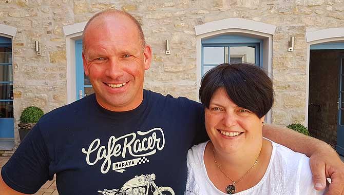 Sven und Anita Hennig aus Erfurt
